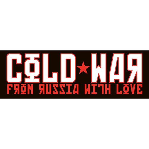 Cold War Sticker