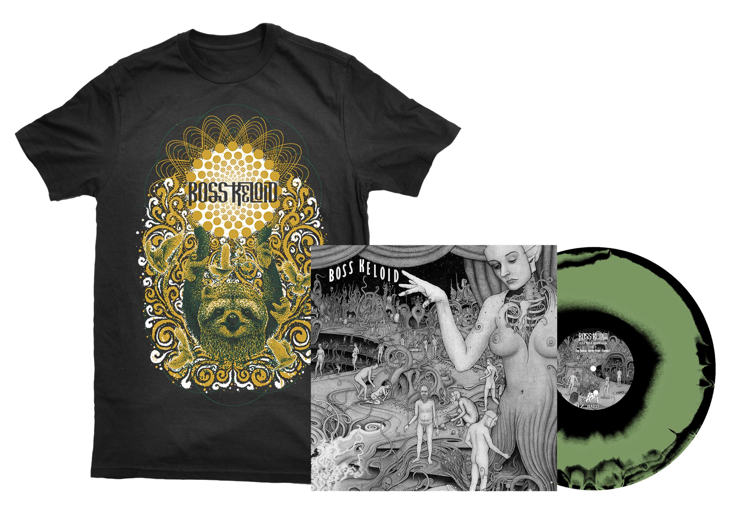 Boss Keloid - Herb Your Enthusiasm shirt + 2xLP + CD PREORDER