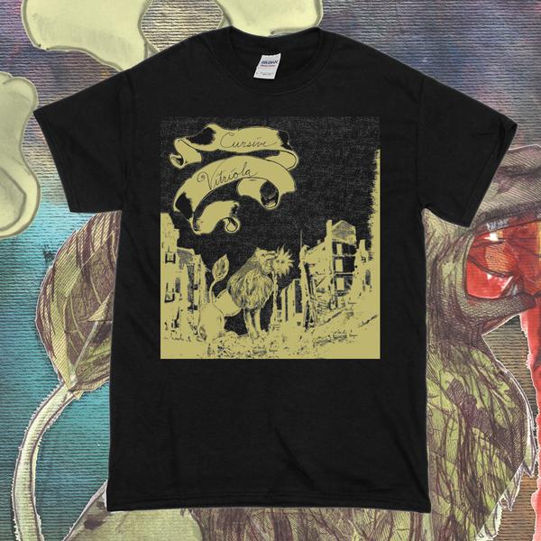 Cursive – Vitriola T-Shirt