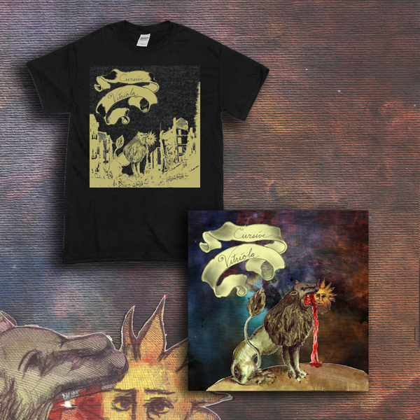 Cursive – Vitriola - LP/CD + T-Shirt Bundle