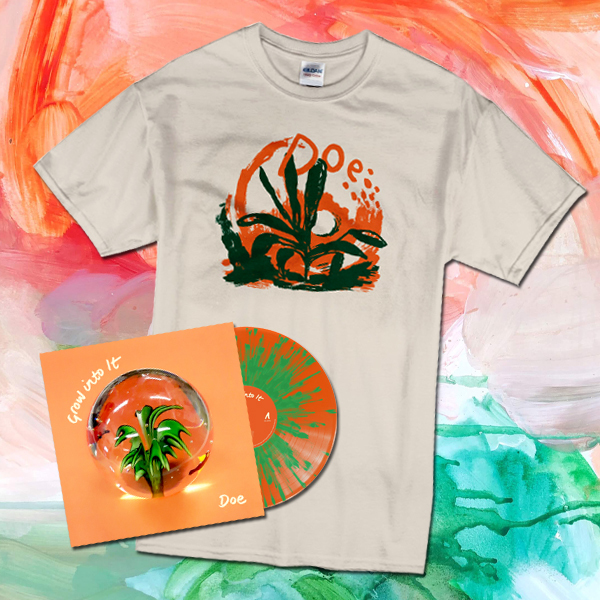 Doe – Grow into It – LP/CD/T-Shirt Bundle - PREORDER