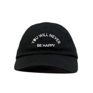 Hemingway x GK - You Will Never Be Happy Dad Hat