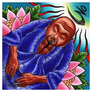 Meditating Buddha Print