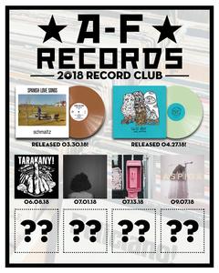 A-F Records 2018 Record Club