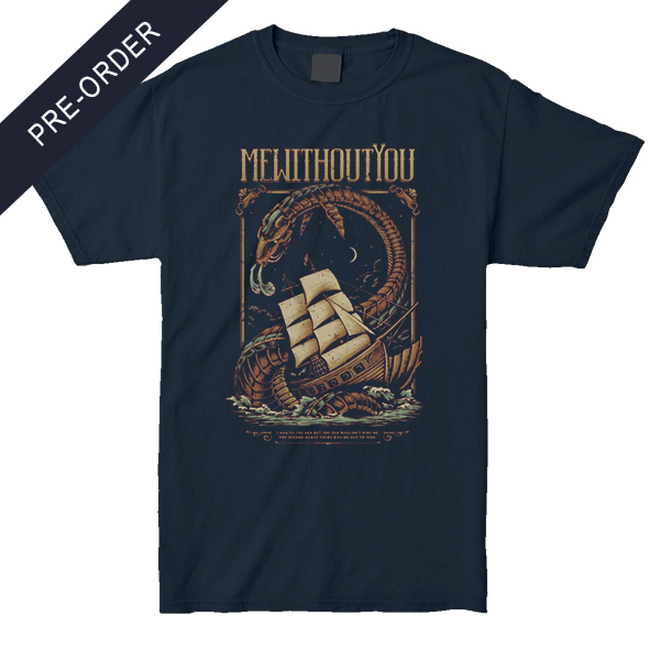 mewithoutYou - Sea Creature Shirt