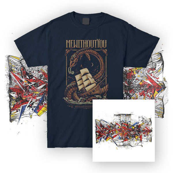 mewithoutYou – [Untitled] Album - LP/CD + T-Shirt Bundle