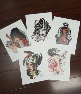 Colbey's Discounted Print Package: One of each print (5 total)