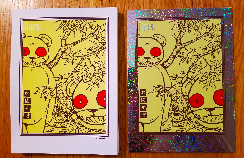 New - 'LIARS' Mini Print (Variants)