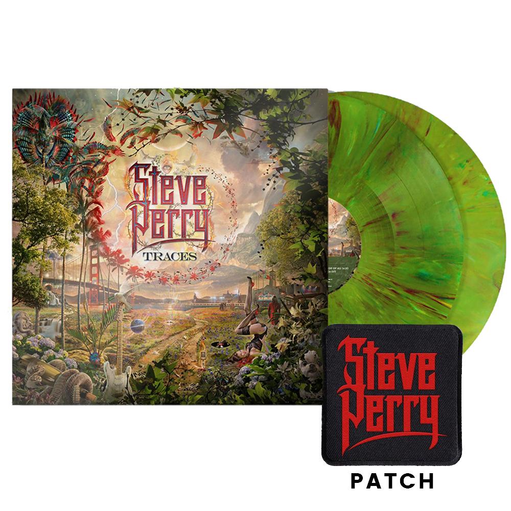 Deluxe Vinyl 2xLP (Green Tree Marble) + Patch