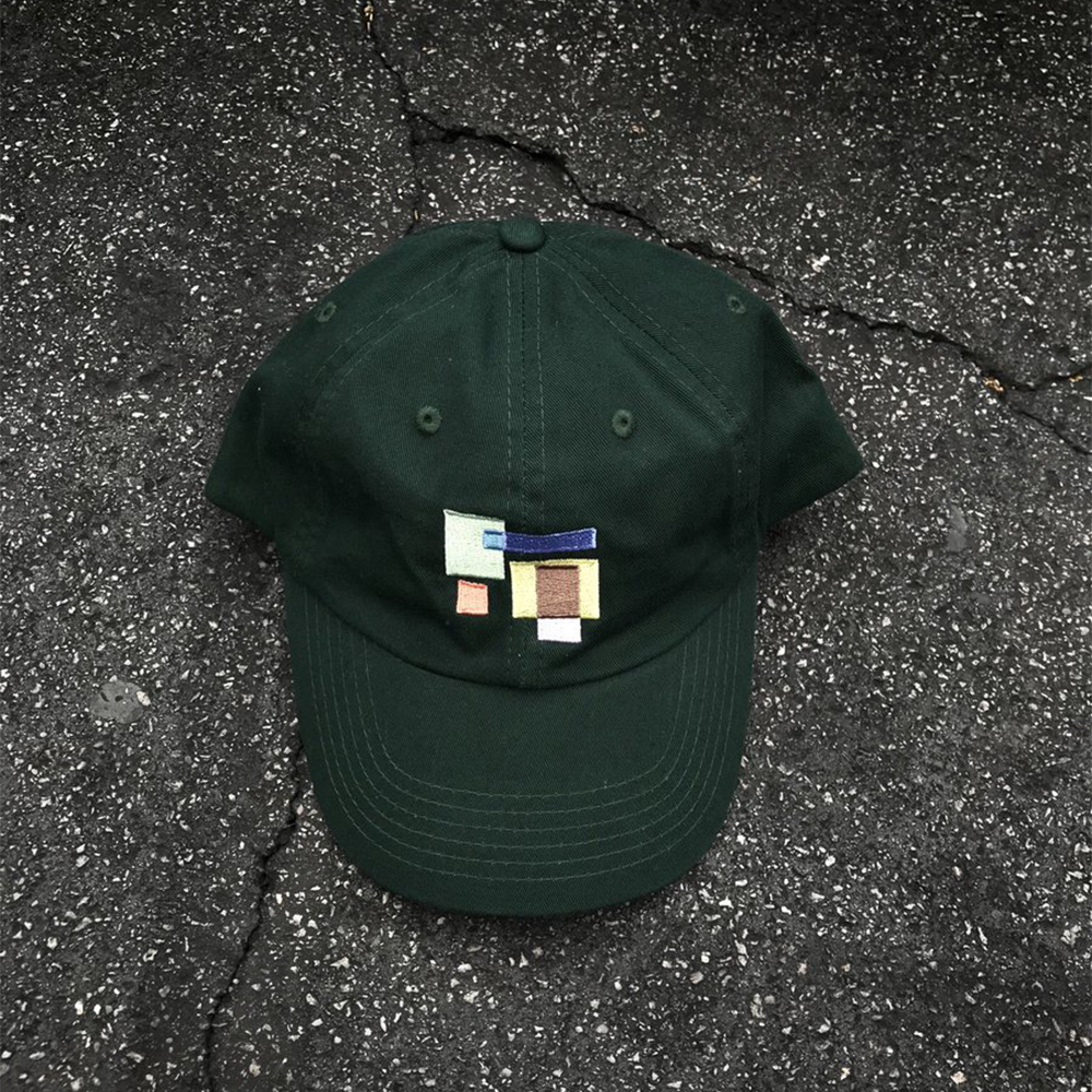 Green Shapes Hat