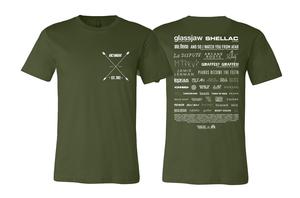 ArcTanGent 2018 Line-Up T-shirt
