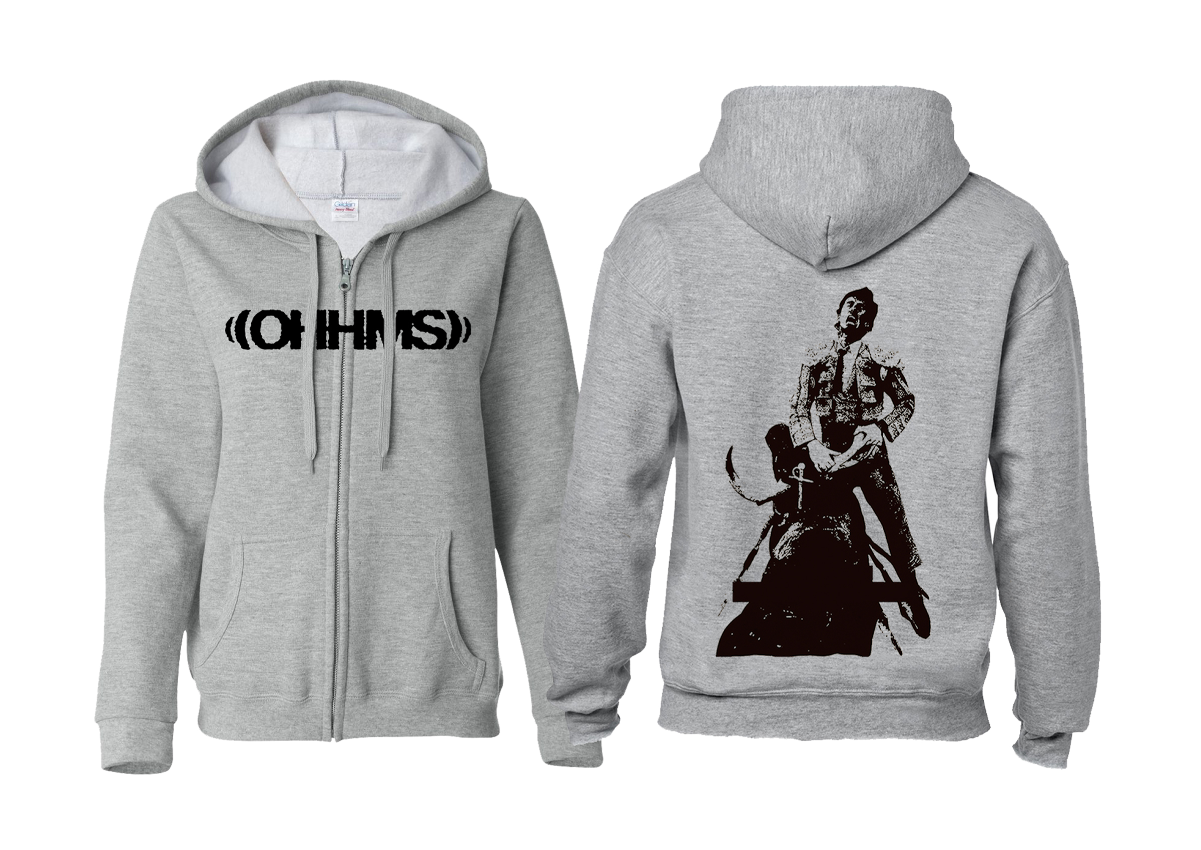 OHHMS - Exist Matador zip-up hoodie PREORDER