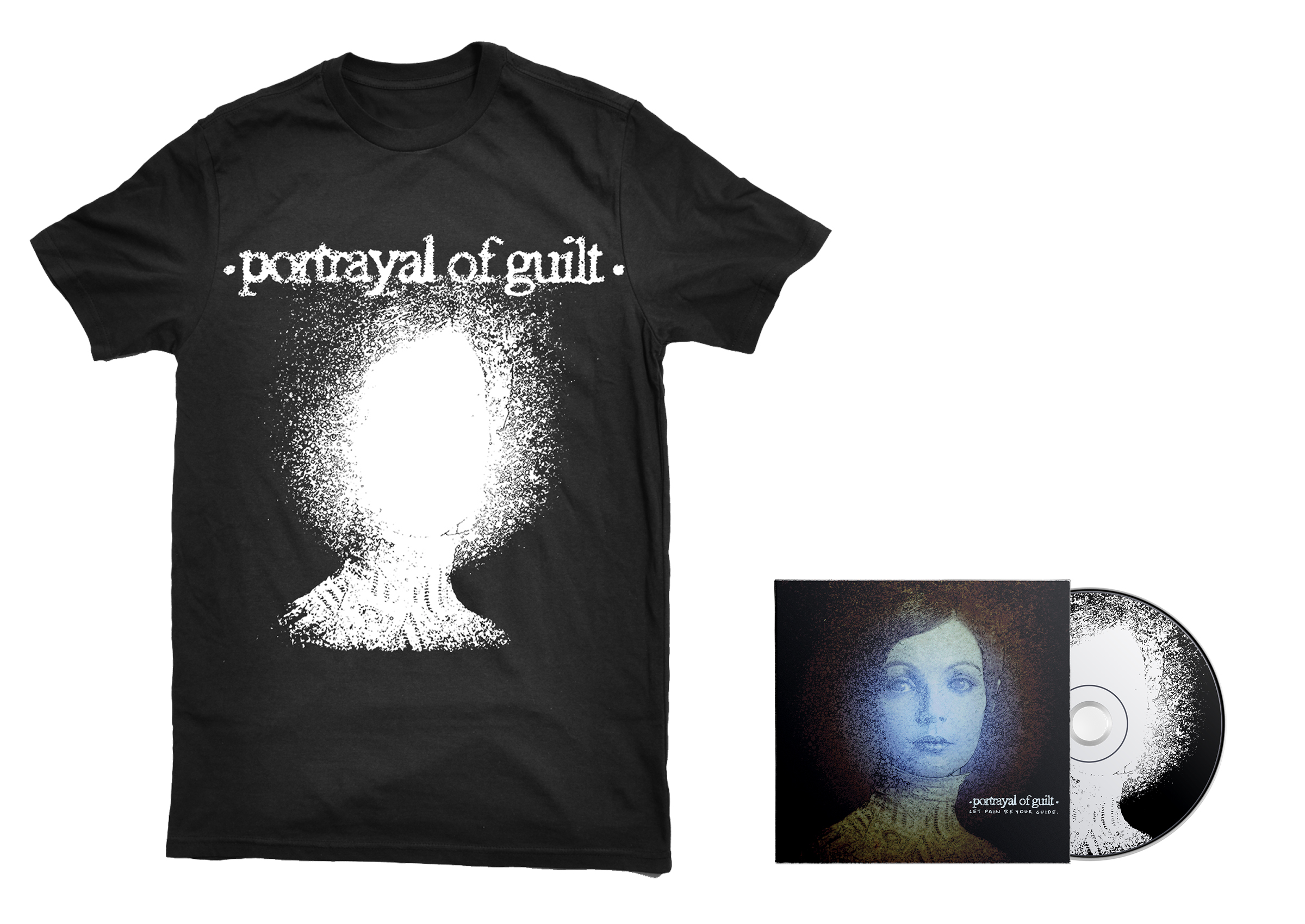 Portrayal Of Guilt Let Pain Be Your Guide Lightheaded Shirt Cd