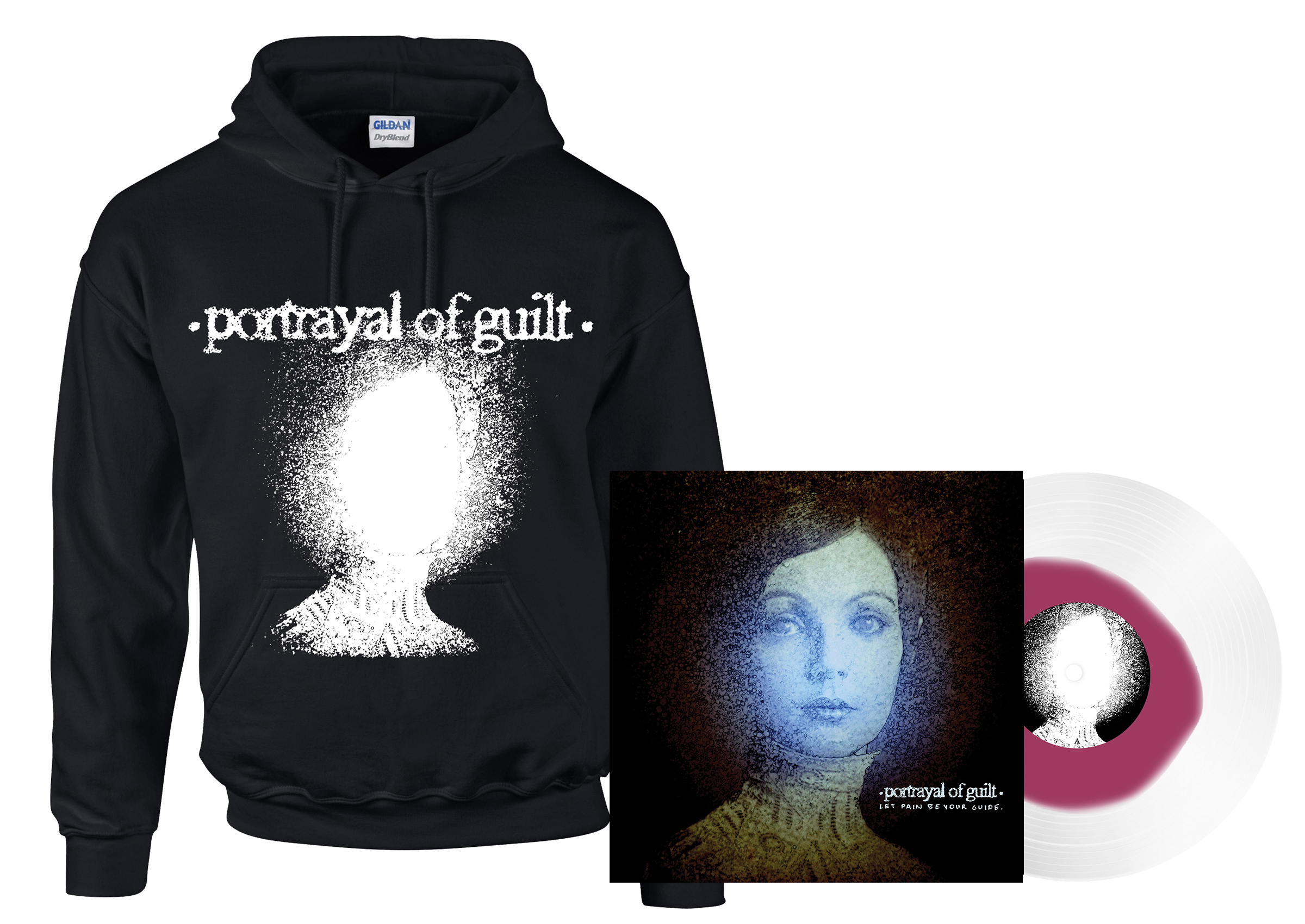 Portrayal Of Guilt Let Pain Be Your Guide Lightheaded Hoodie