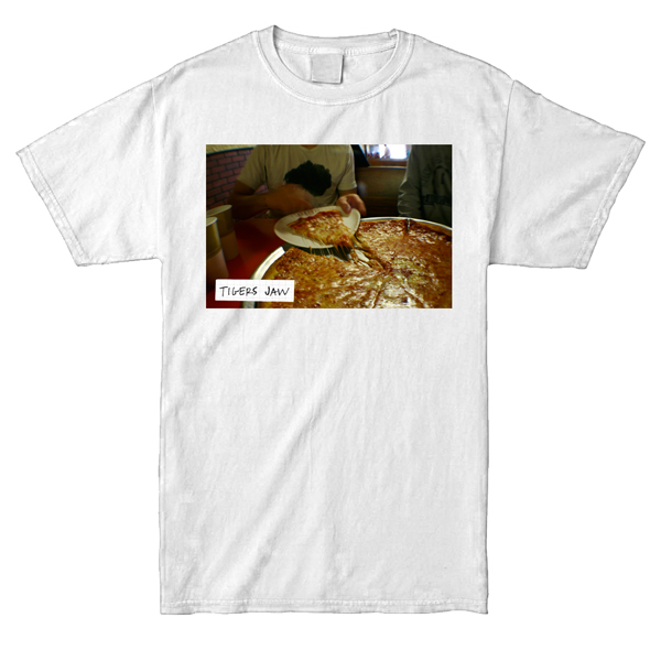 Tigers Jaw - Pizza Shirt (Full-Color)