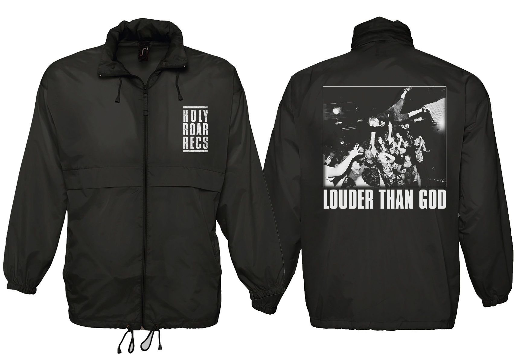 Holy Roar Records Windbreaker PREORDER