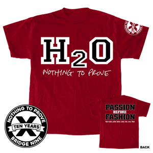 H2O 'Passion Before Fashion 10 Year' T-Shirt