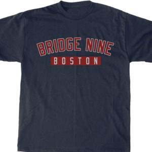 Bridge Nine 'Boston' Denim Navy Tee