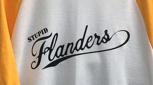 *NEW* Stupid Flanders Yellow Sleeve Jersey