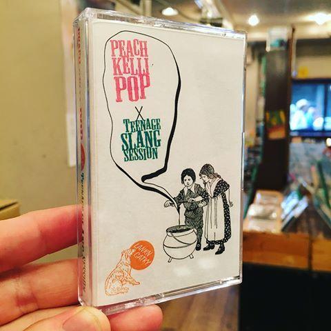 Peach Kelli Pop / Teenage Slang Split (JAPAN RELEASE)