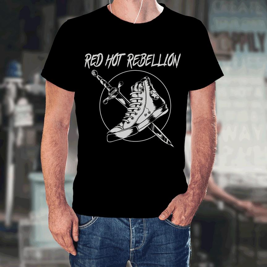 RHR Shoe Knife T-Shirt