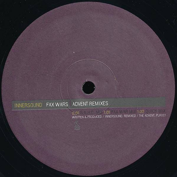 Innersound – Fax Wars (Advent Remixes) (Plink Plonk)