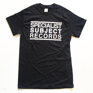 Specialist Subject - Logo T-shirt Black
