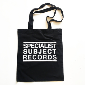Specialist Subject - Black Logo Tote Bag