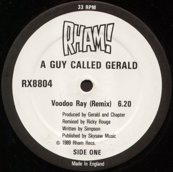 A Guy Called Gerald – Voodoo Ray (Remix) (Rham!)