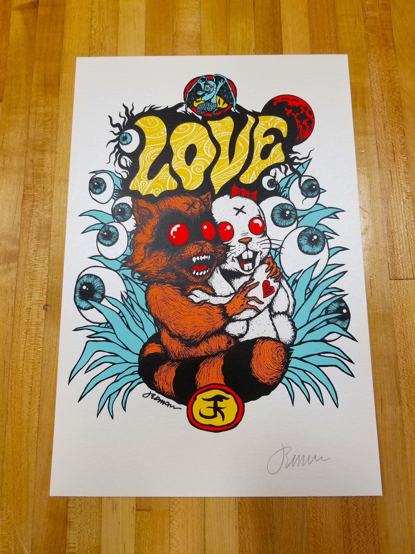 NEW - 'Love' Mini Art Print -