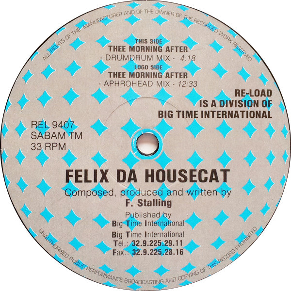 Felix Da Housecat – Thee Morning After (Re-load Records)