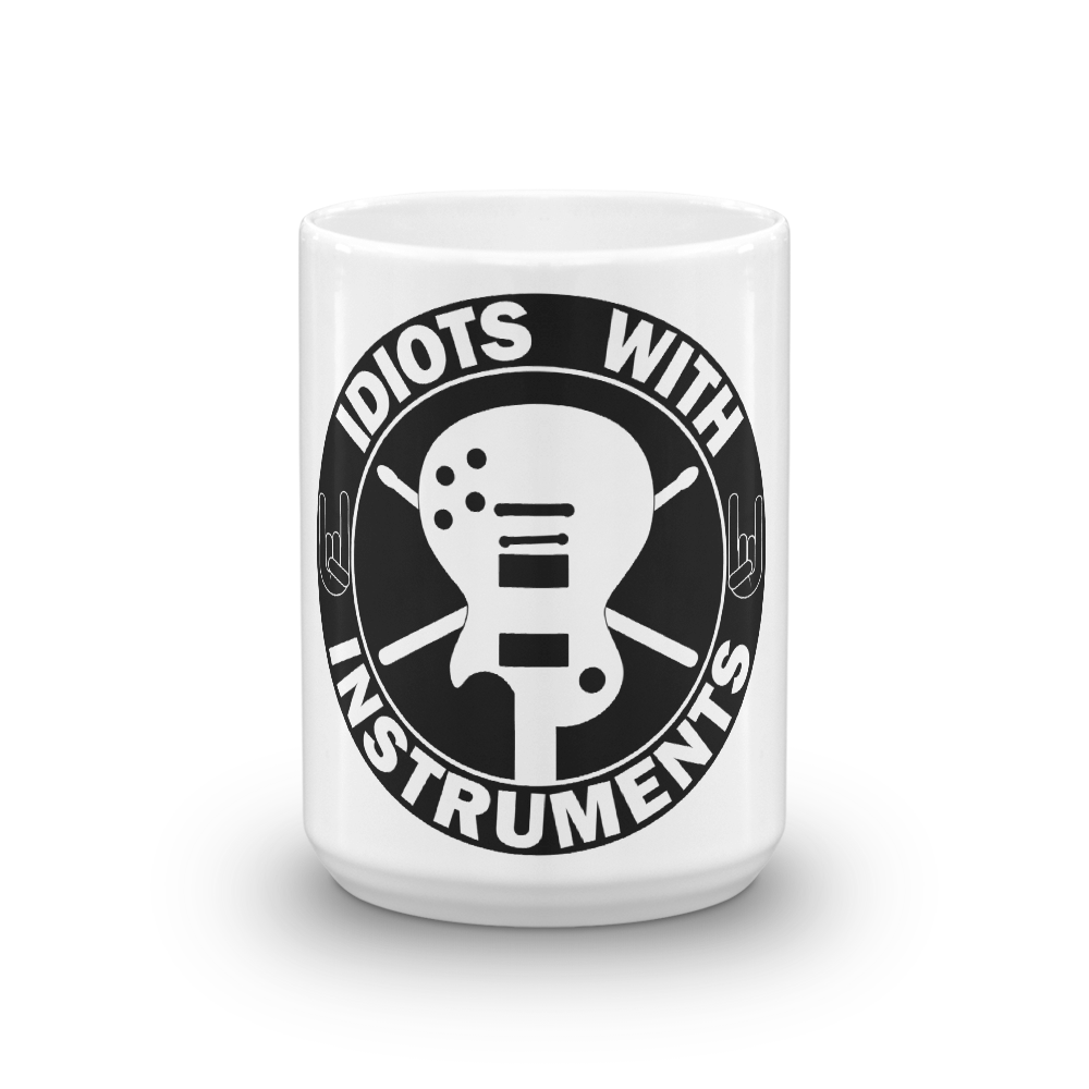 Idiots With Instruments Coffee Mug