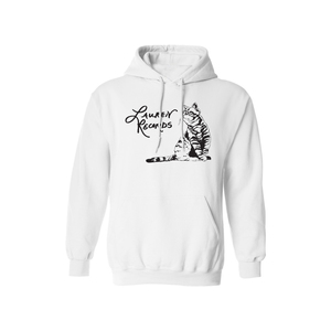 Lauren Records White Cat Hoodie