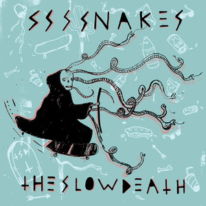 Ssssnakes / The Slow Death - Split 7