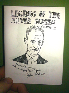 LEGENDS OF THE SILVER SCREEN Vol. 2 zine by Owen Ashworth