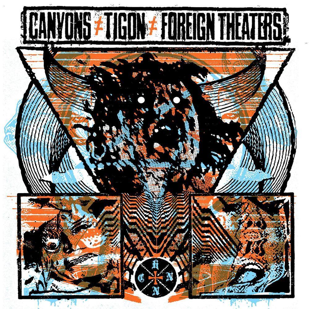 CANYONS/TIGON/FOREIGN THEATERS 3-way split LP