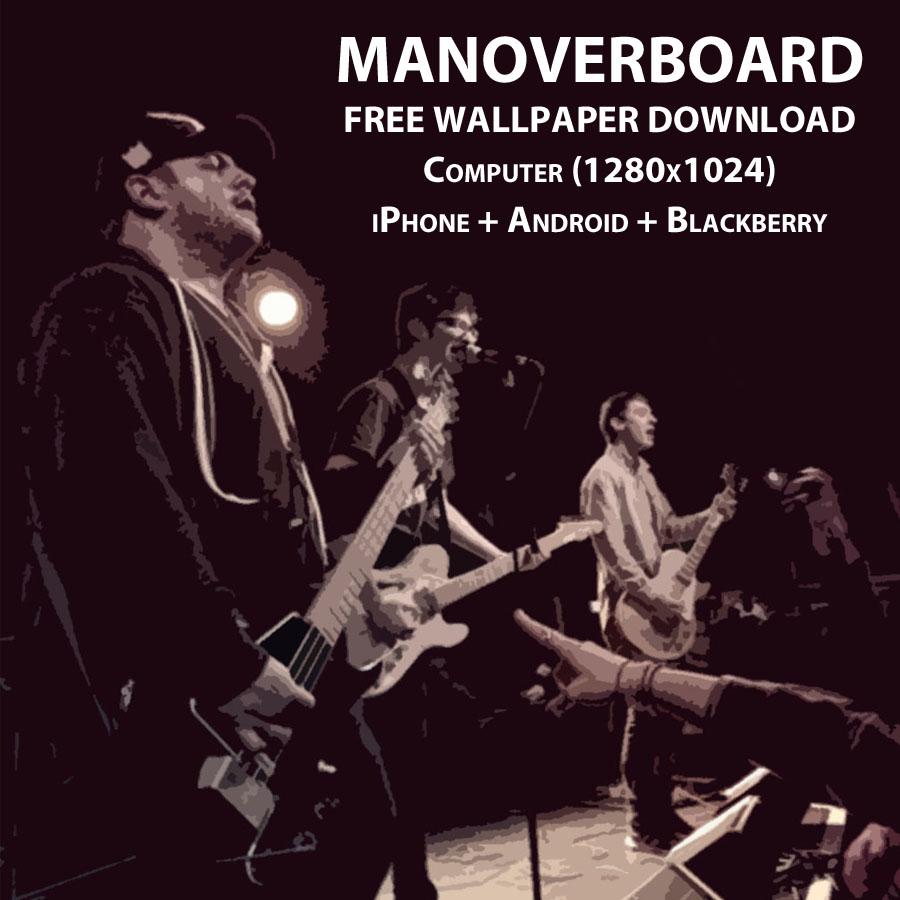 Man Overboard / LTC Web Store - Man Overboard Wallpaper