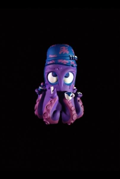 8 Hands For Bad Habits - Purple